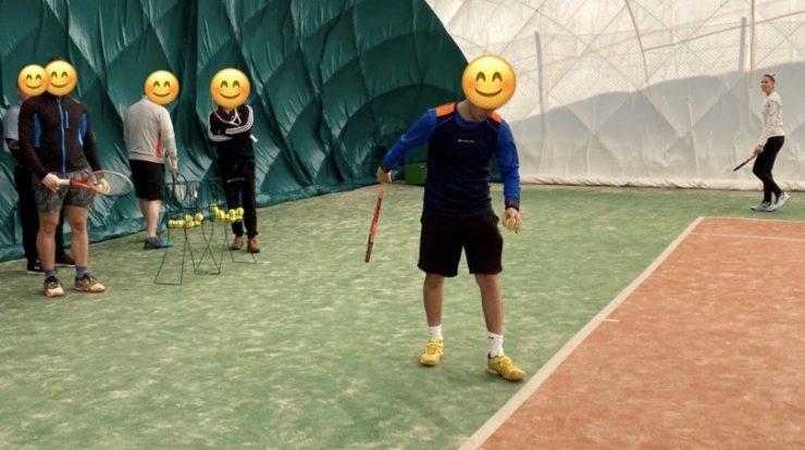 tenisový seminář